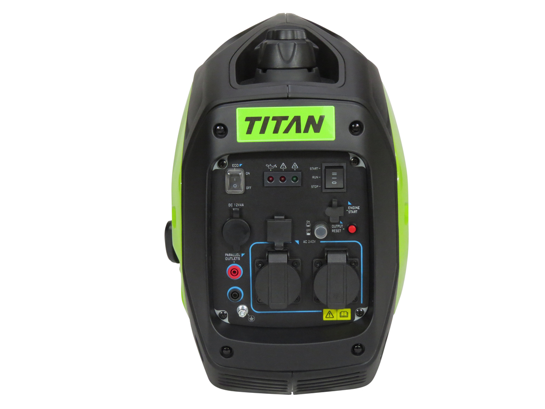 Titan Envirogen 2600IE Inverter Generator Electric Start image 3