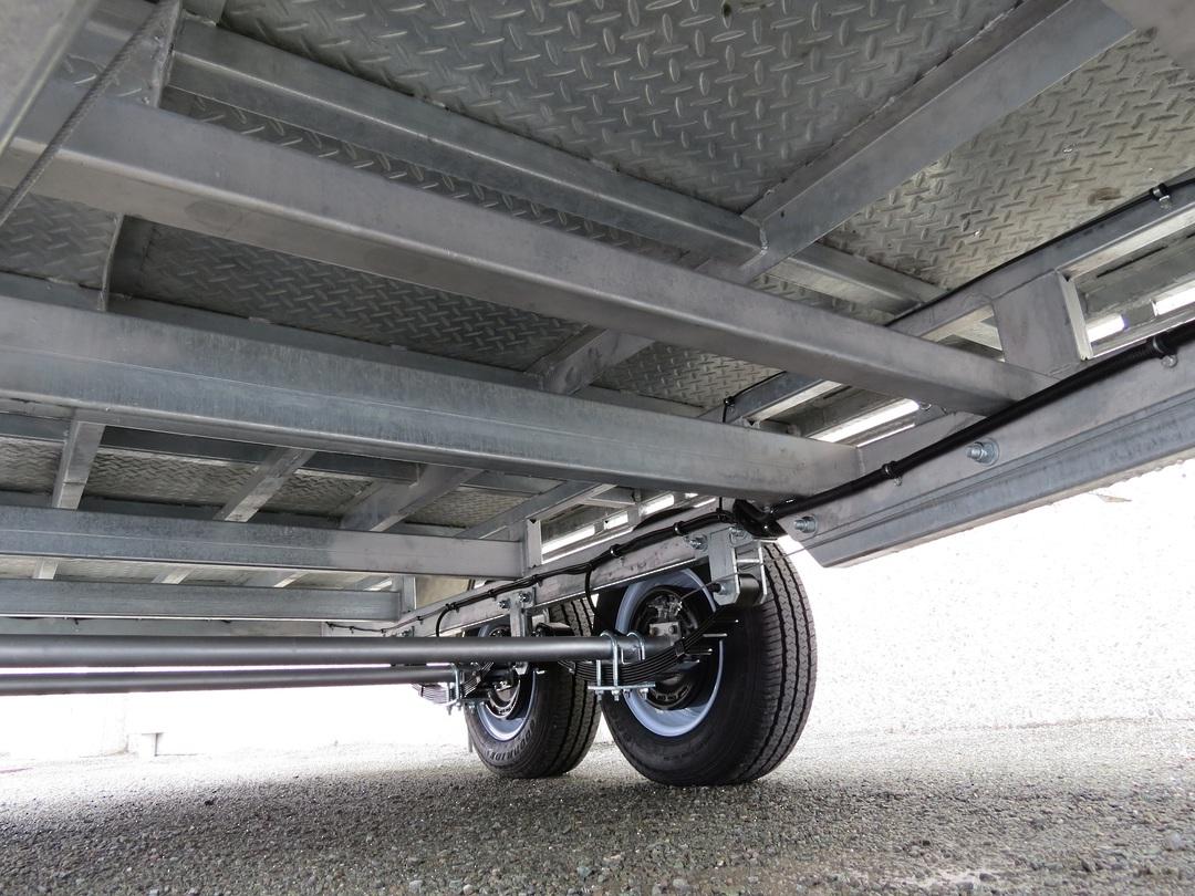 Safari 12x7 Tandem Axle Flatdeck Trailer Optional 1200mm Cage image 5