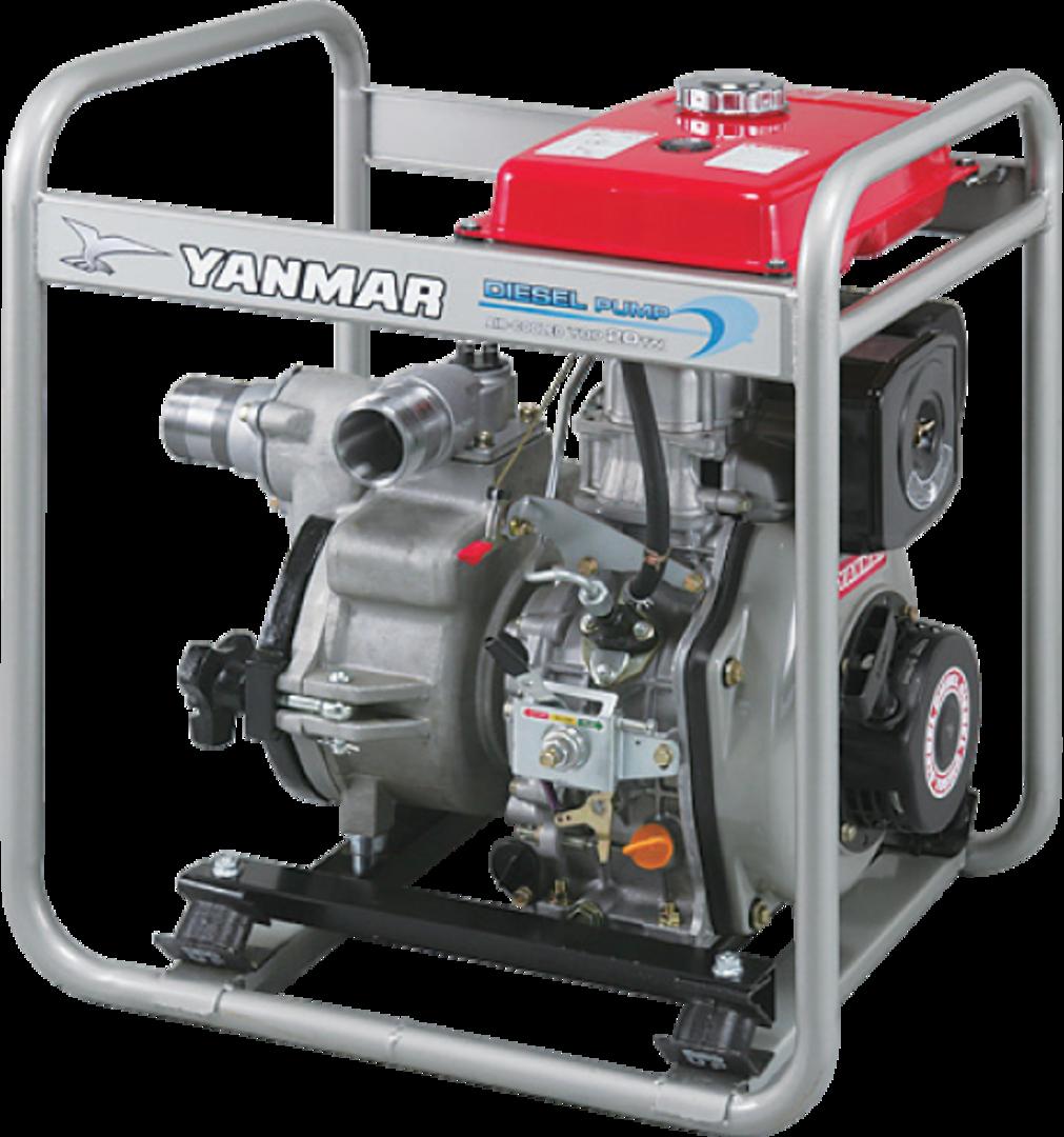 "Yanmar 2"" Trash Pump Electric Start image 0"
