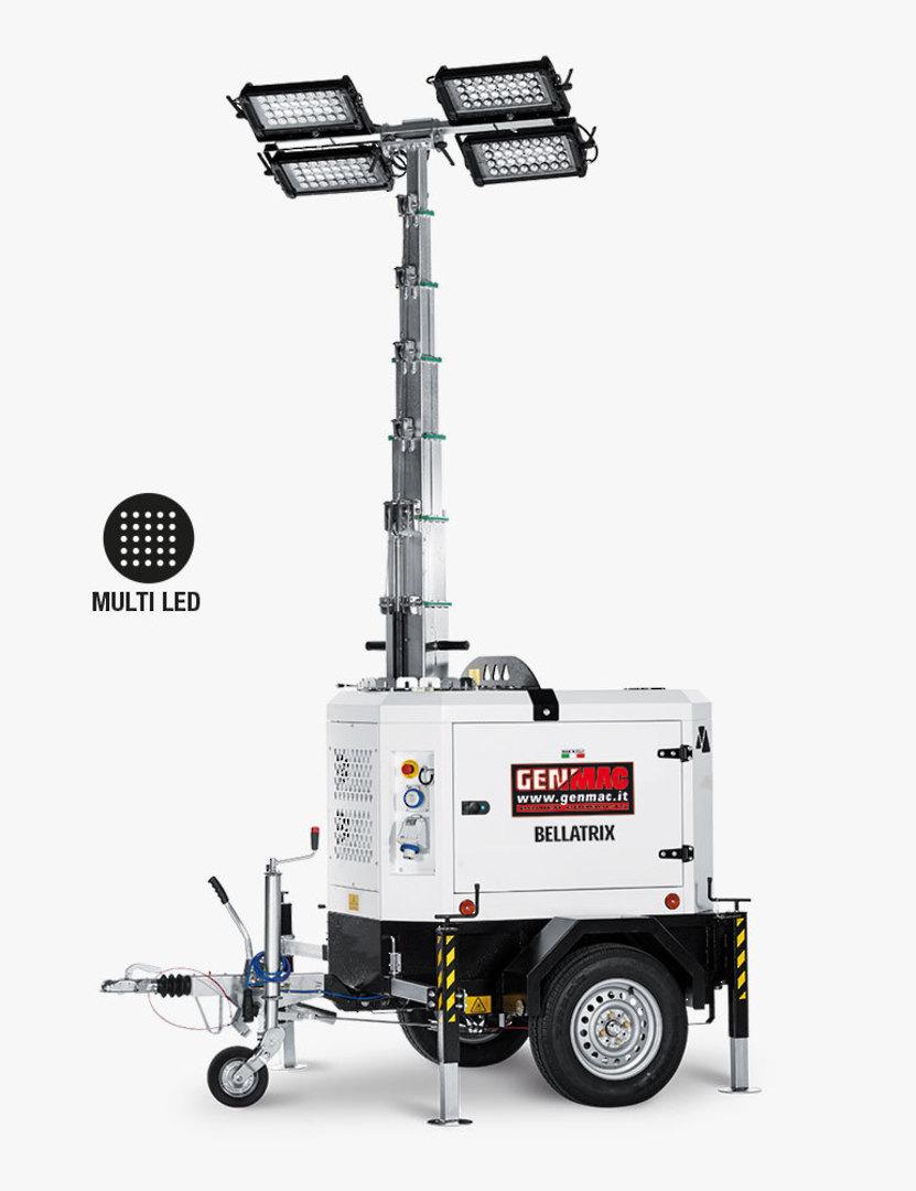Genmac Bellatrix LED Light Tower TI9K-M5 image 0