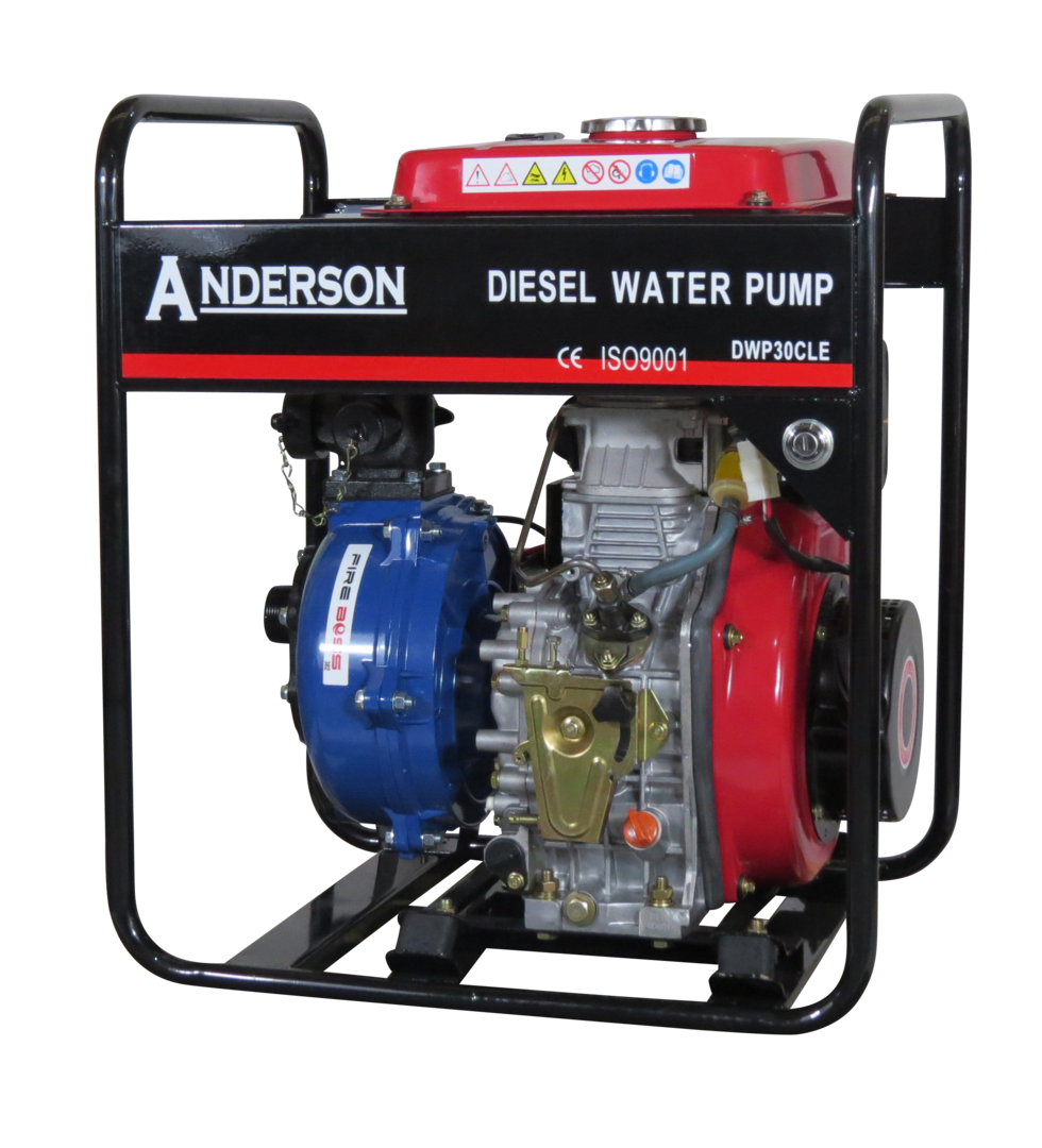 "1½"" Anderson Diesel 382 Fireboss® Twin Impeller Pump Electric start image 0"