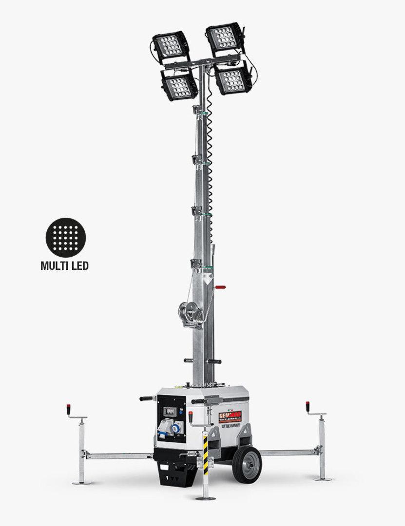 Genmac Little Winky LED Light Tower TM7 image 0