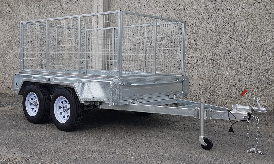 Safari 8x5 Tandem Axle Box Trailer Incl 900mm Cage image 0