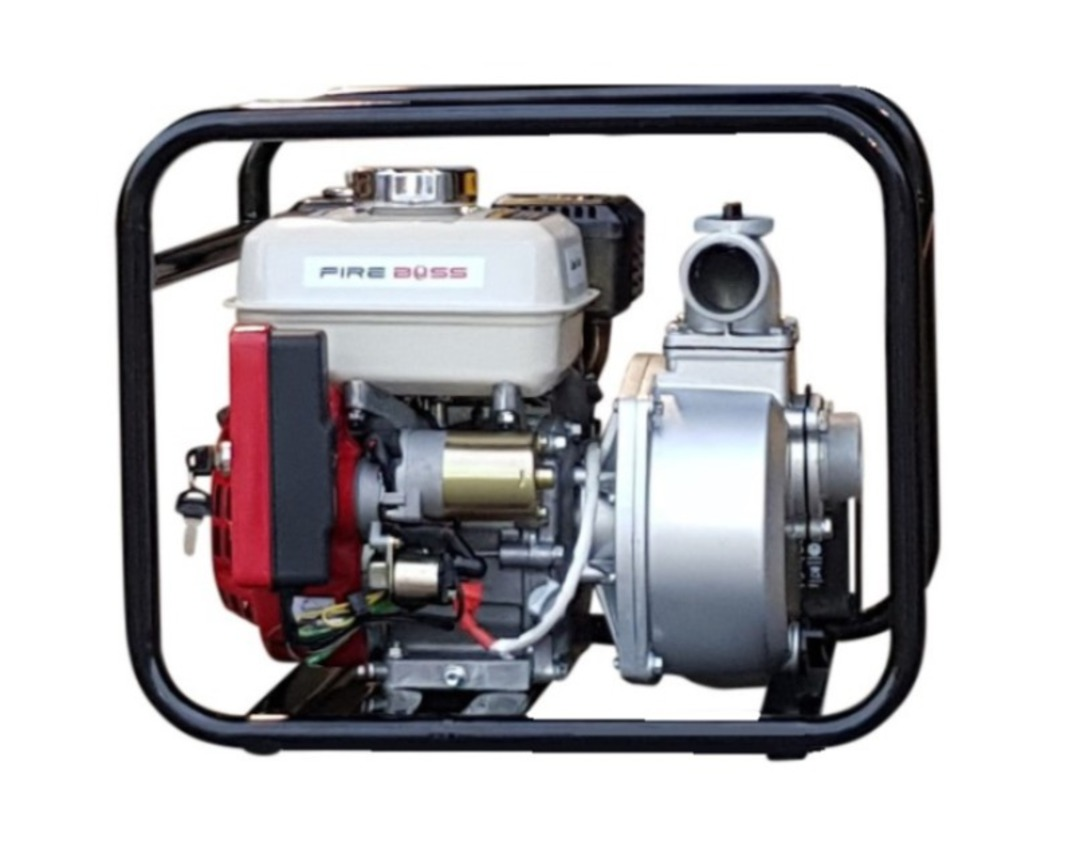 "2"" Fireboss® Honda Powered Semi Trash Water Pump Electric Start image 0"