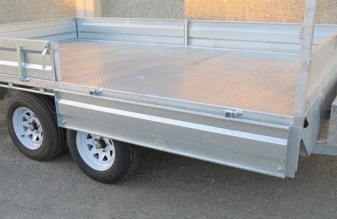 Safari 12x7 Tandem Axle Flatdeck Trailer Optional 1200mm Cage image 2