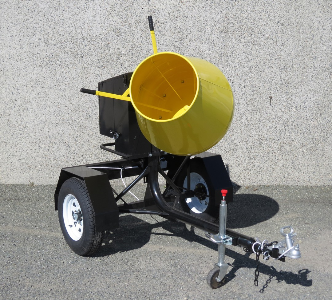CYCLONE R190 Concrete Mixer Road Towable - Honda Petrol Engine image 2