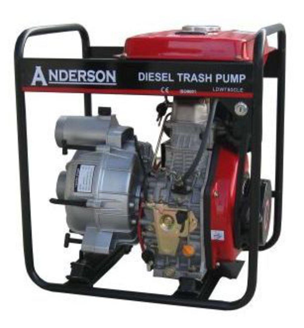 """Anderson Diesel 3"""" Trash Pump Electric start image 0"""