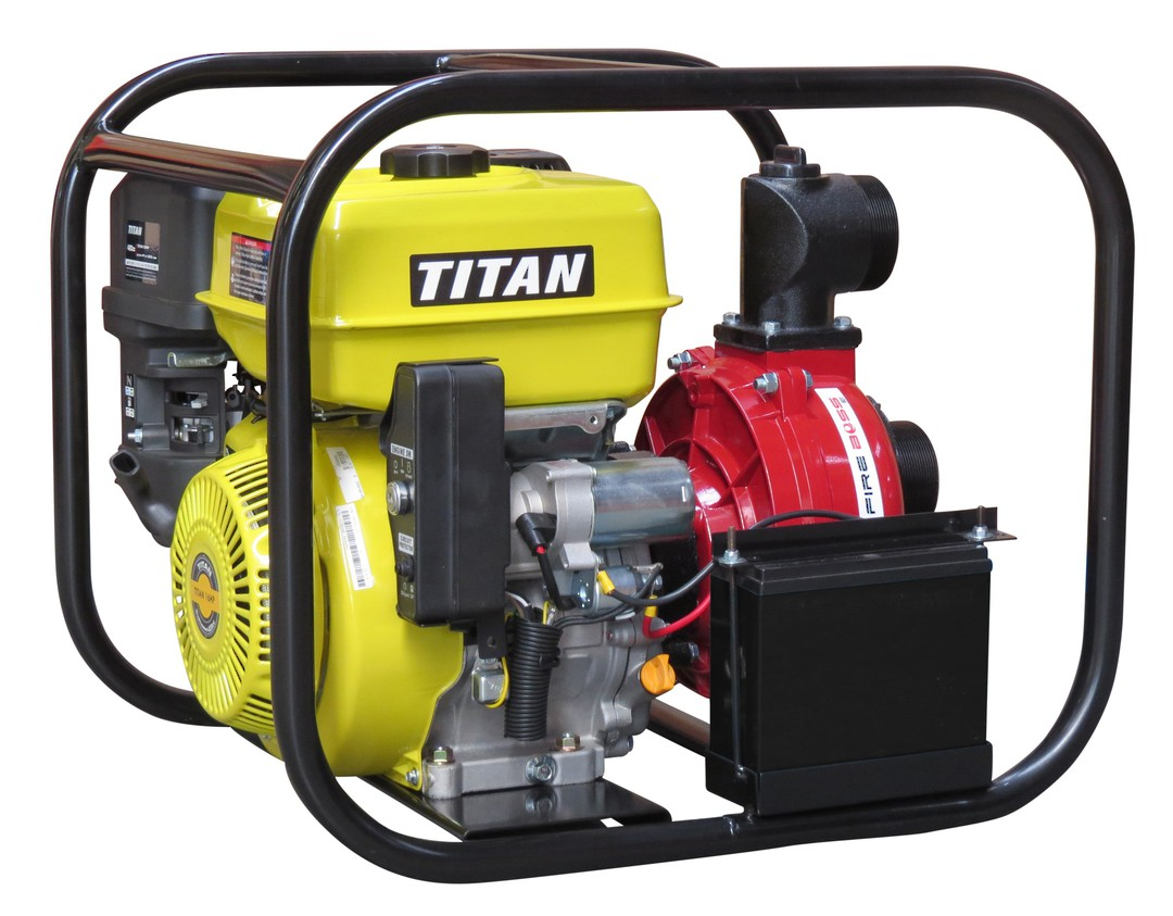 "3"" Titan Fireboss® 851 High Pressure Water Pump 16HP Electric start image 0"