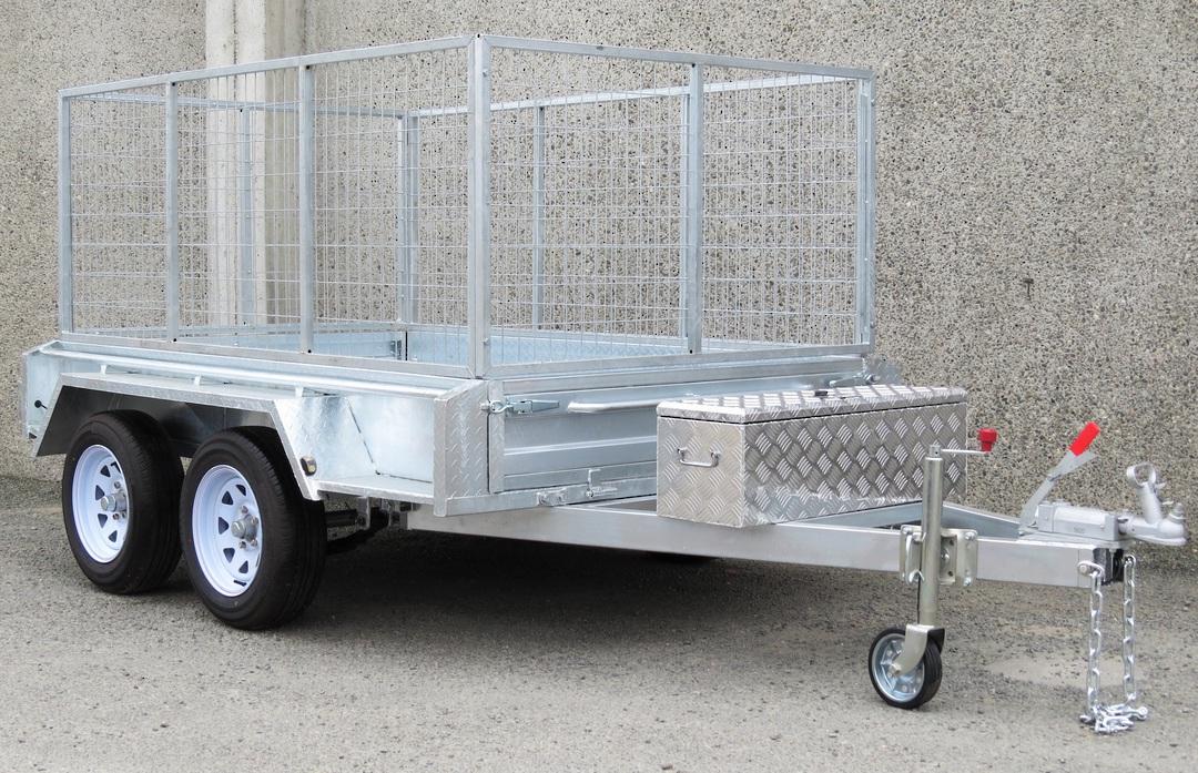 Safari 8x5 Tandem Axle Box Trailer Incl 900mm Cage image 0