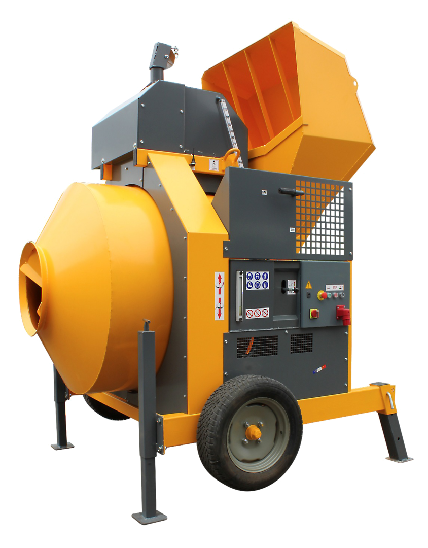 Altrad Belle RB800B Skip Feed Concrete Mixer - Three Phase Electric image 0