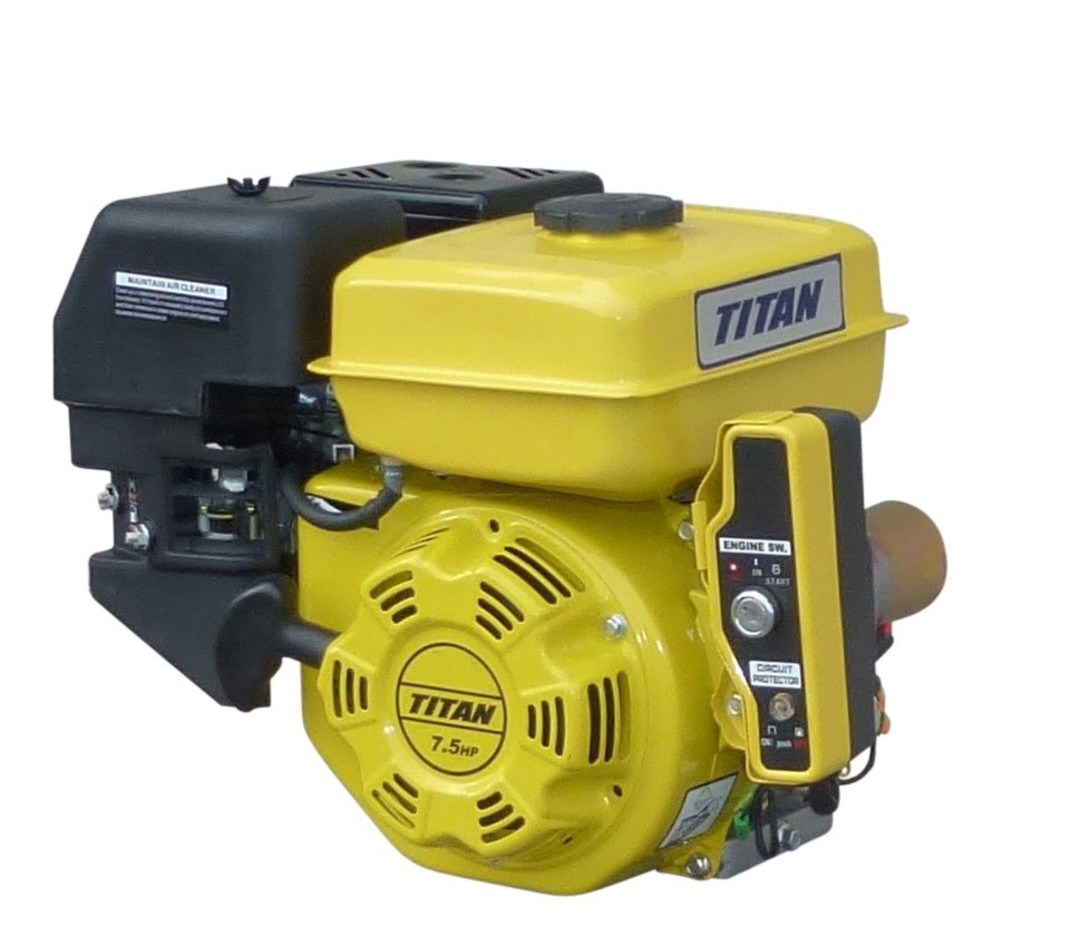 Titan 7.5HP Electric Start Engine image 0