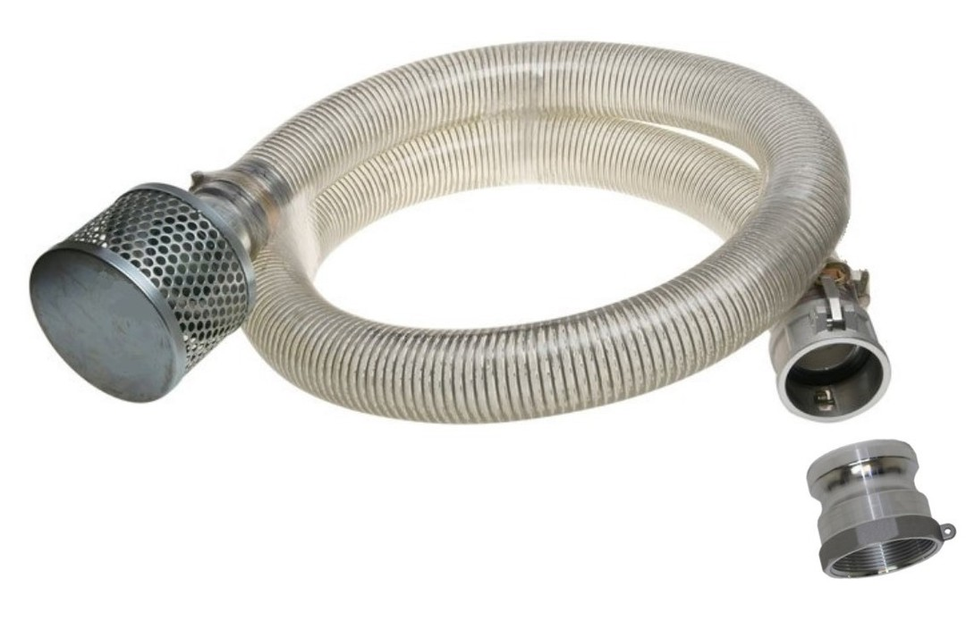 "1½"" Suction Hose Kit 4M image 0"