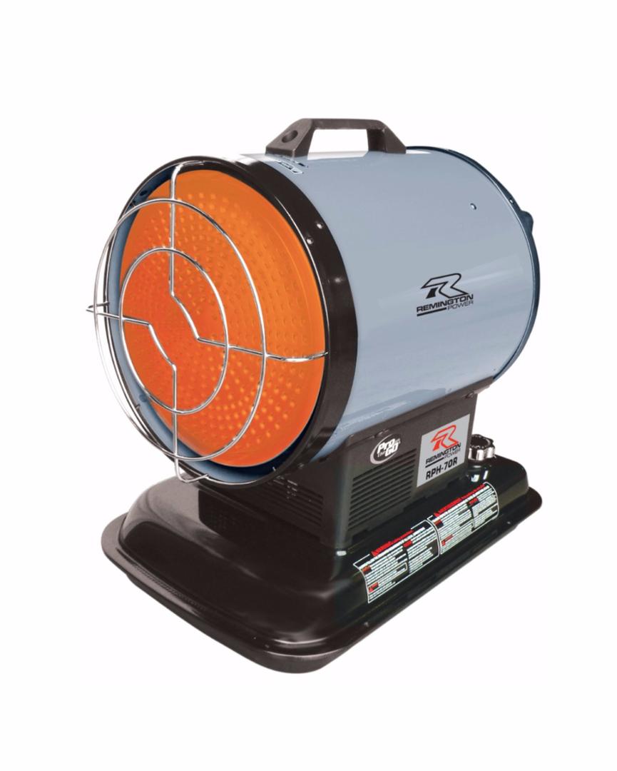 REMINGTON RPH70R Radiant Diesel Heater 21kW image 0