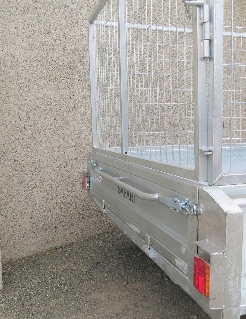 Safari 8x5 Tandem Axle Box Trailer Incl 900mm Cage image 3