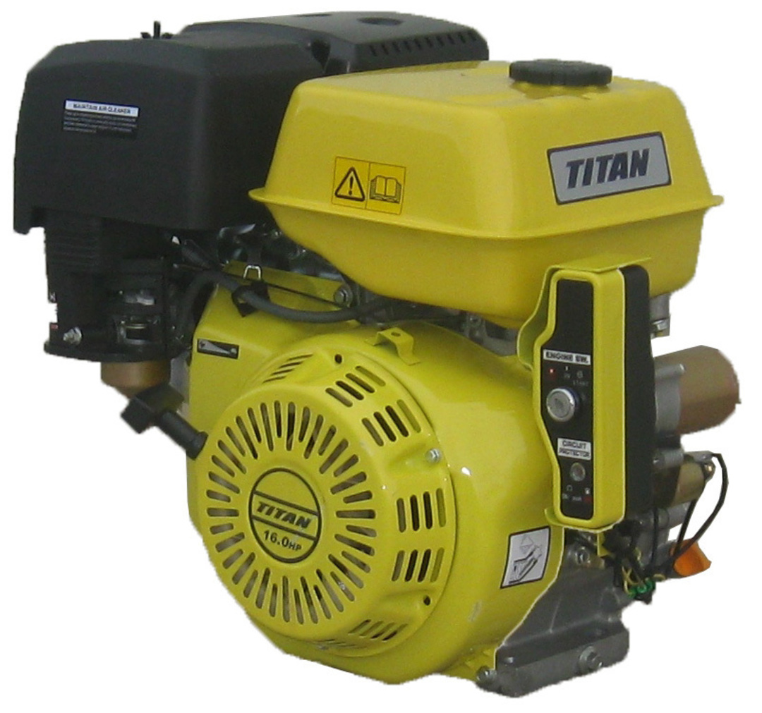 Titan 16HP Engine, Electric Start image 0