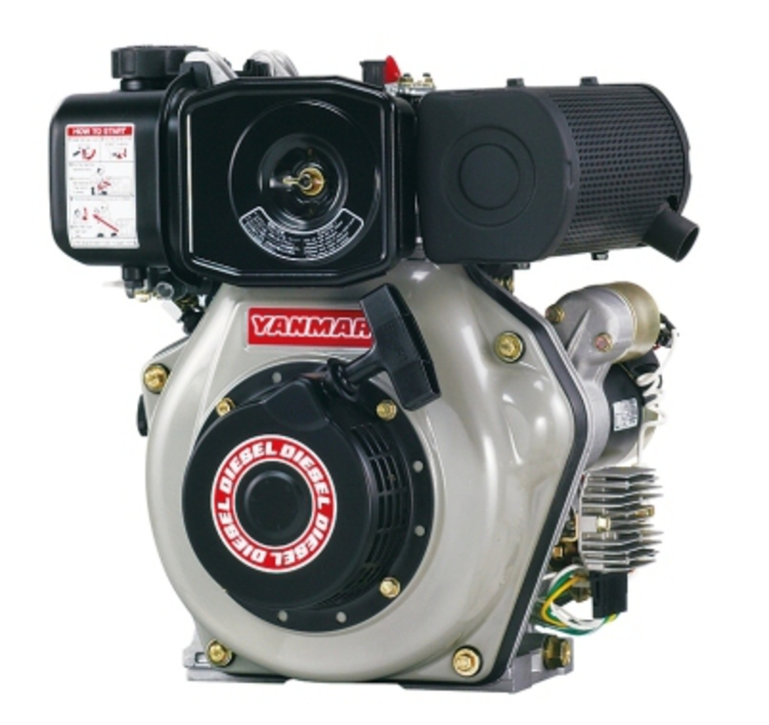 Yanmar L48N 4.7hp Diesel Engine Electric Start image 0