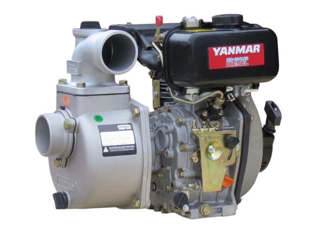 "3"" Yanmar Powered Semi Trash Pump Electric Start - No Frame image 0"