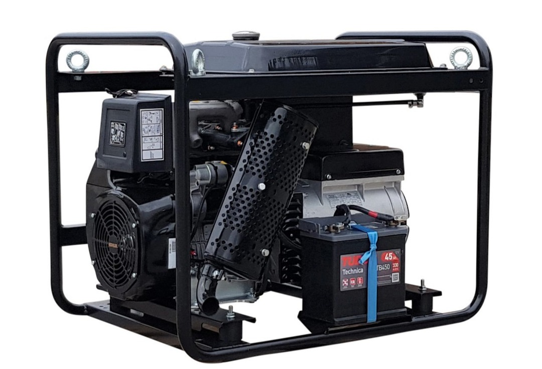 Genmac Kohler Powered G11100KEO Diesel Generator 12.3kVA 400v image 1