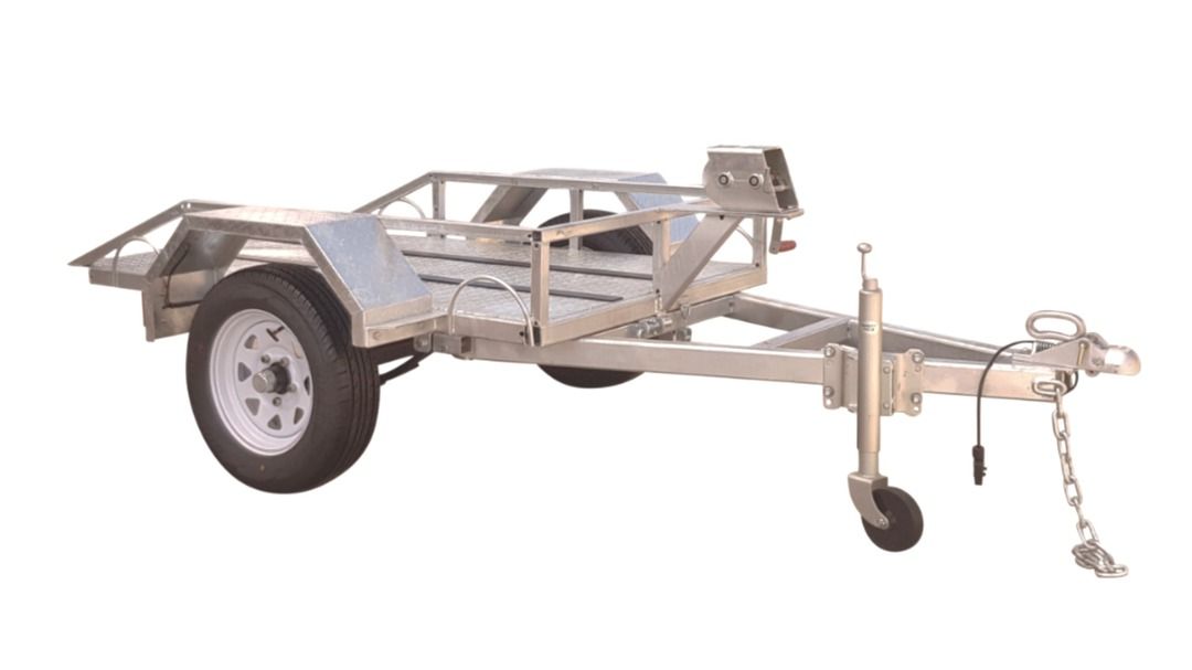 Safari Easy Load Plate Compactor Trailer image 0