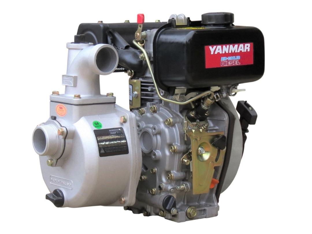 "2"" Yanmar Powered Semi Trash Pump Electric Start - No Frame image 0"