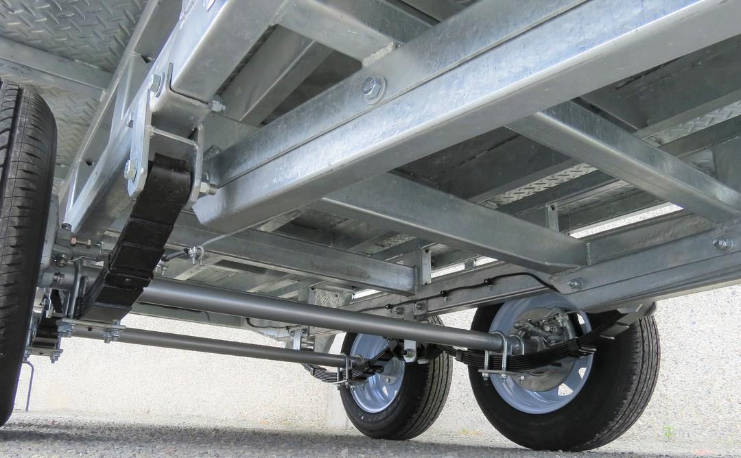 Safari 10x6 Tandem Axle Flatdeck Trailer Optional 1200mm Cage image 5