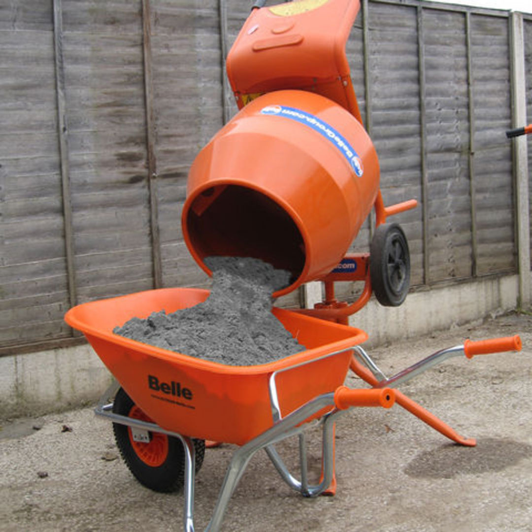 Belle Minimix Concrete Mixer Electric image 2