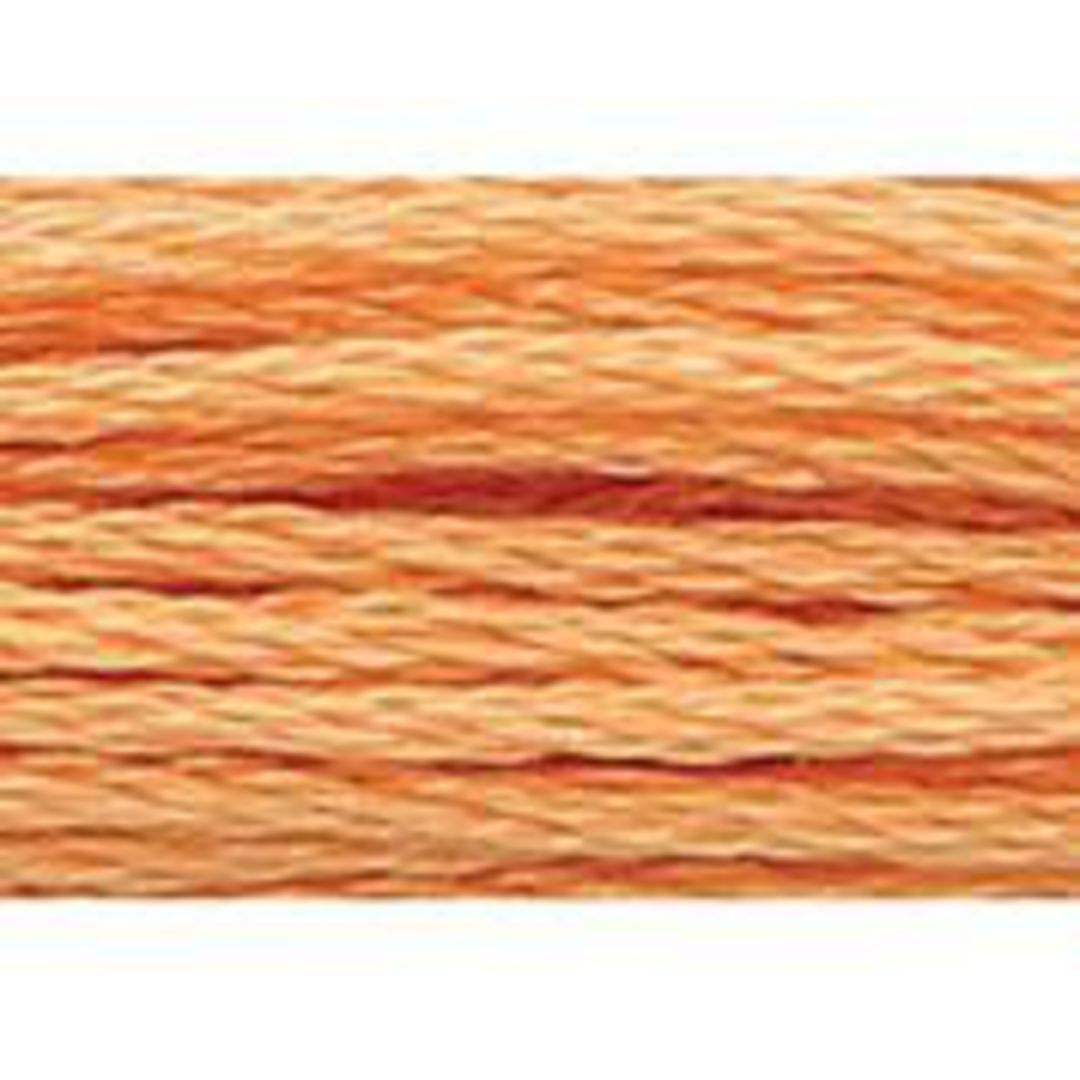 Stranded Cotton Cross Stitch Threads - Orange Shades image 8