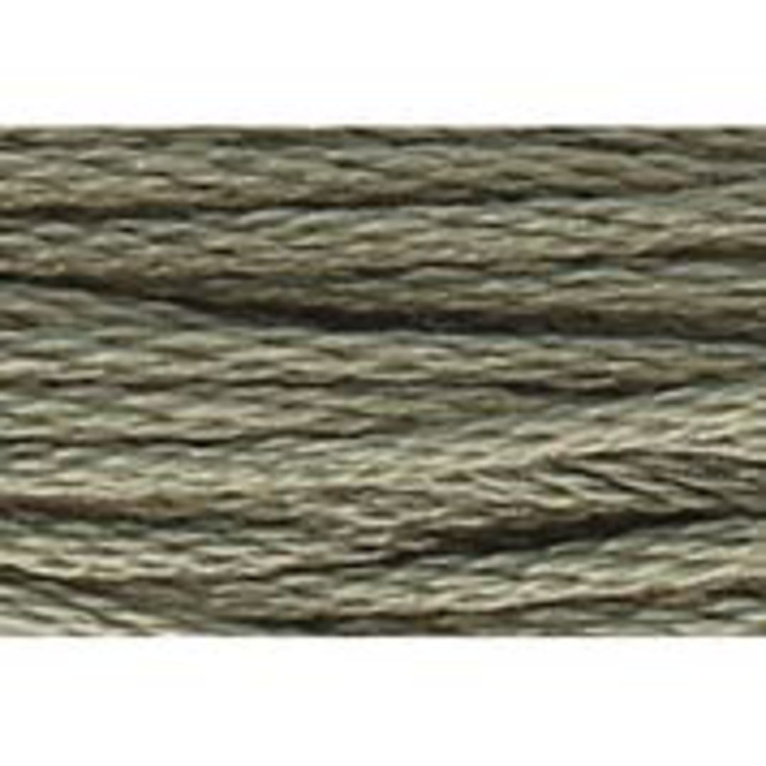 Stranded Cotton Cross Stitch Threads - Green Shades image 1