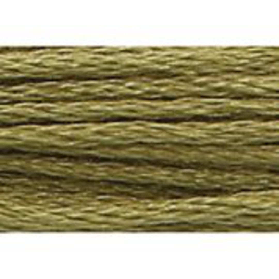 Stranded Cotton Cross Stitch Threads - Green Shades image 28