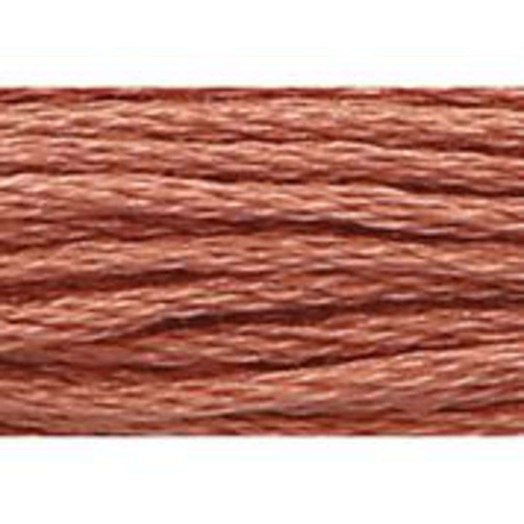 Stranded Cotton Cross Stitch Threads - Orange Shades image 14