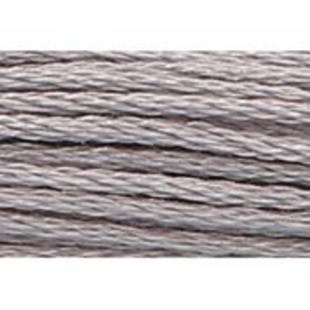 Stranded Cotton Cross Stitch Threads - Greys Shades image 7