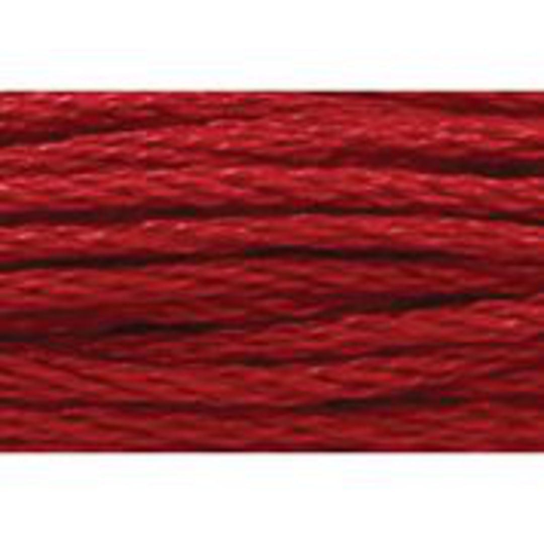 Stranded Cotton Cross Stitch Thread - Red Shades image 40