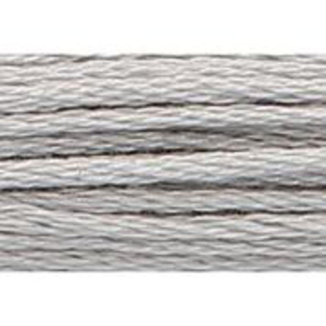 Stranded Cotton Cross Stitch Threads - Greys Shades image 8