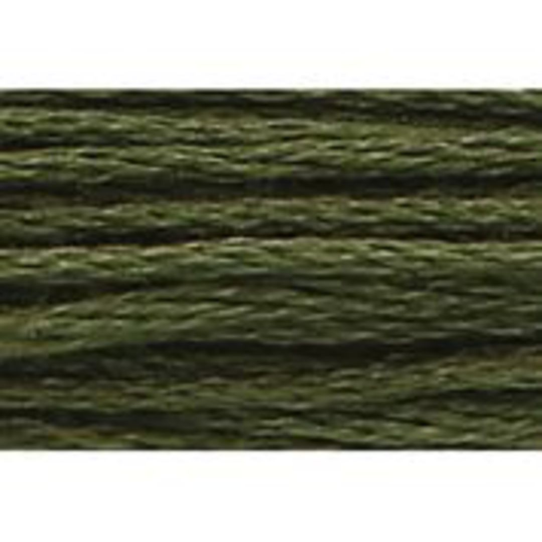 Stranded Cotton Cross Stitch Threads - Green Shades image 35