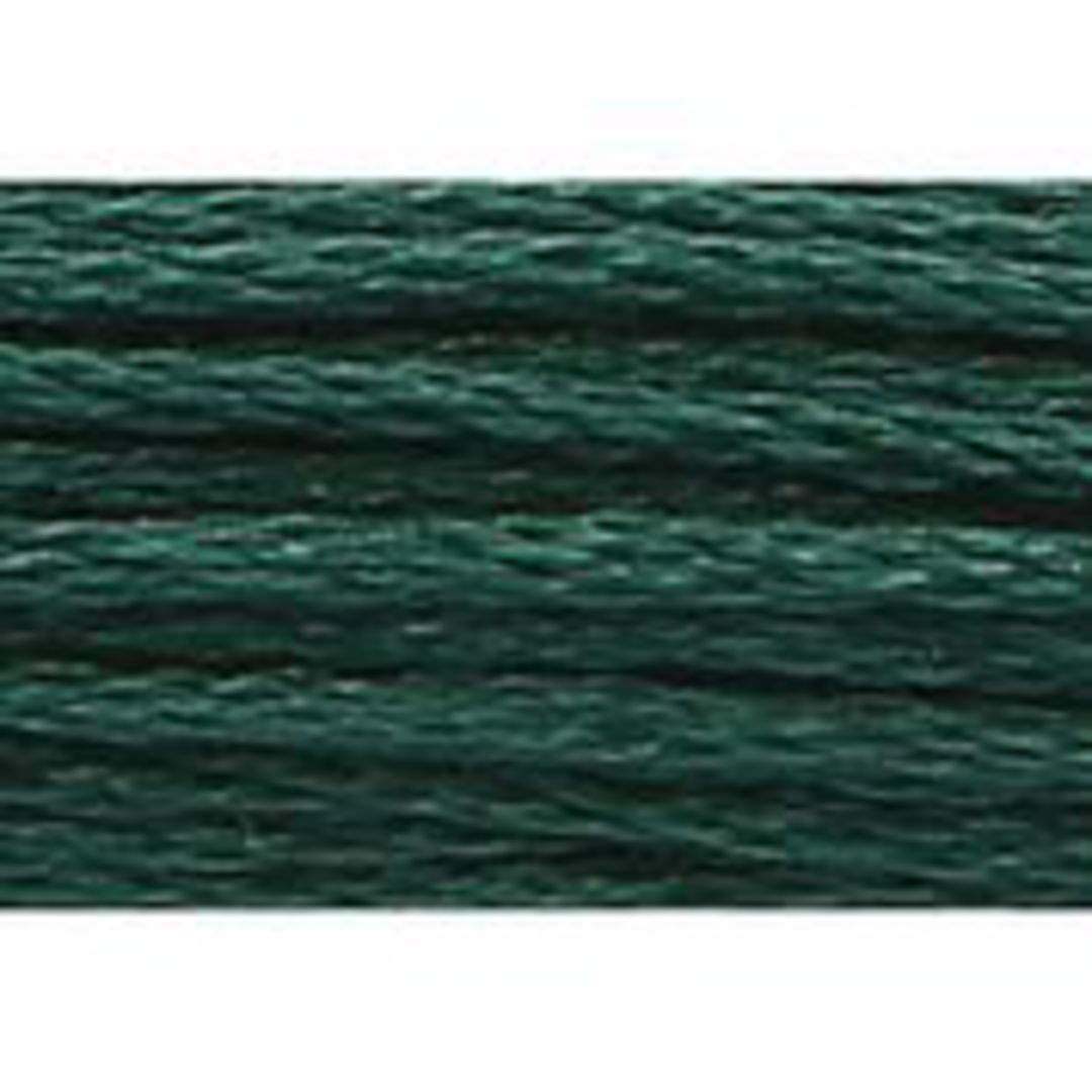 Stranded Cotton Cross Stitch Threads - Green Shades image 14