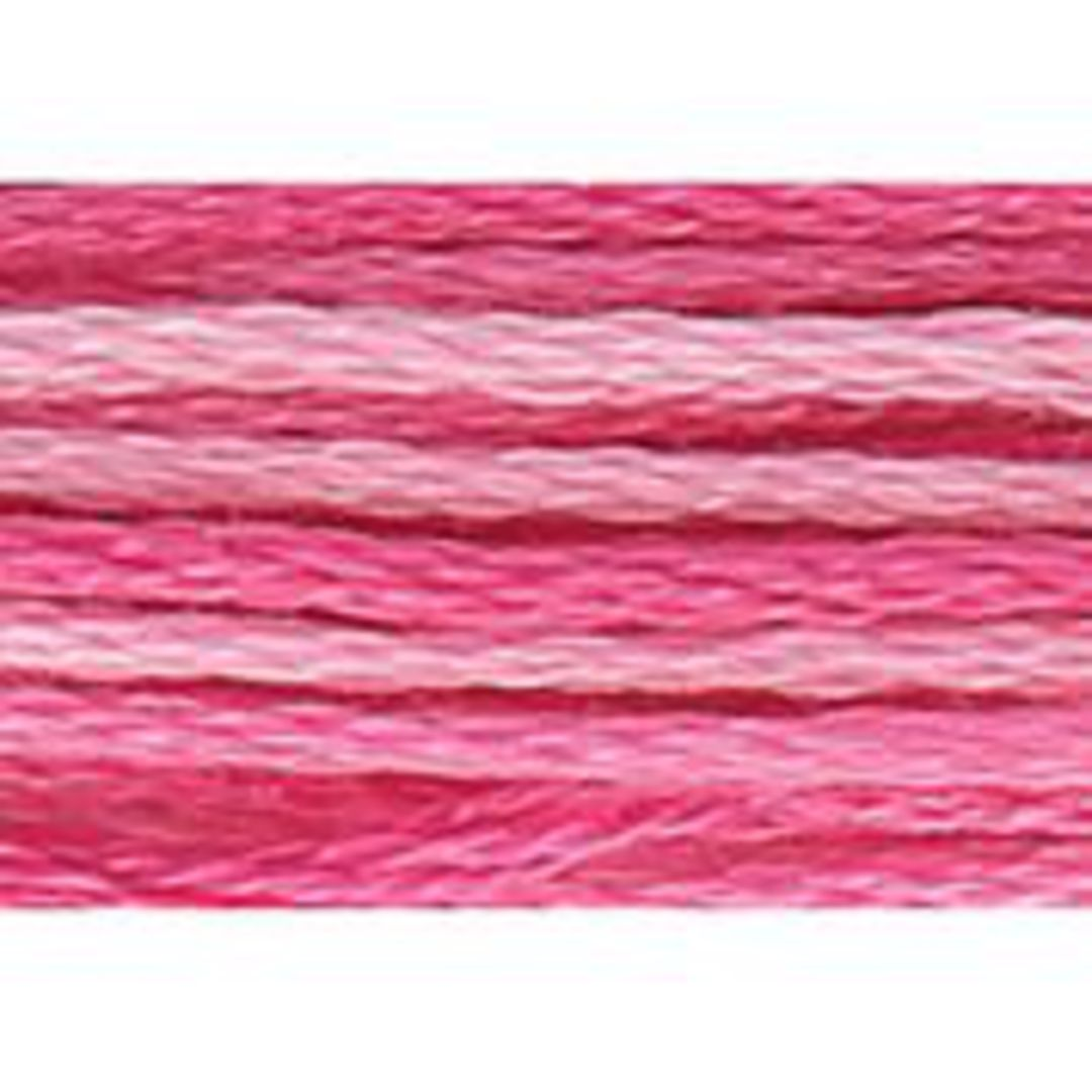 Stranded Cotton Cross Stitch Threads - Pinks Shades image 1