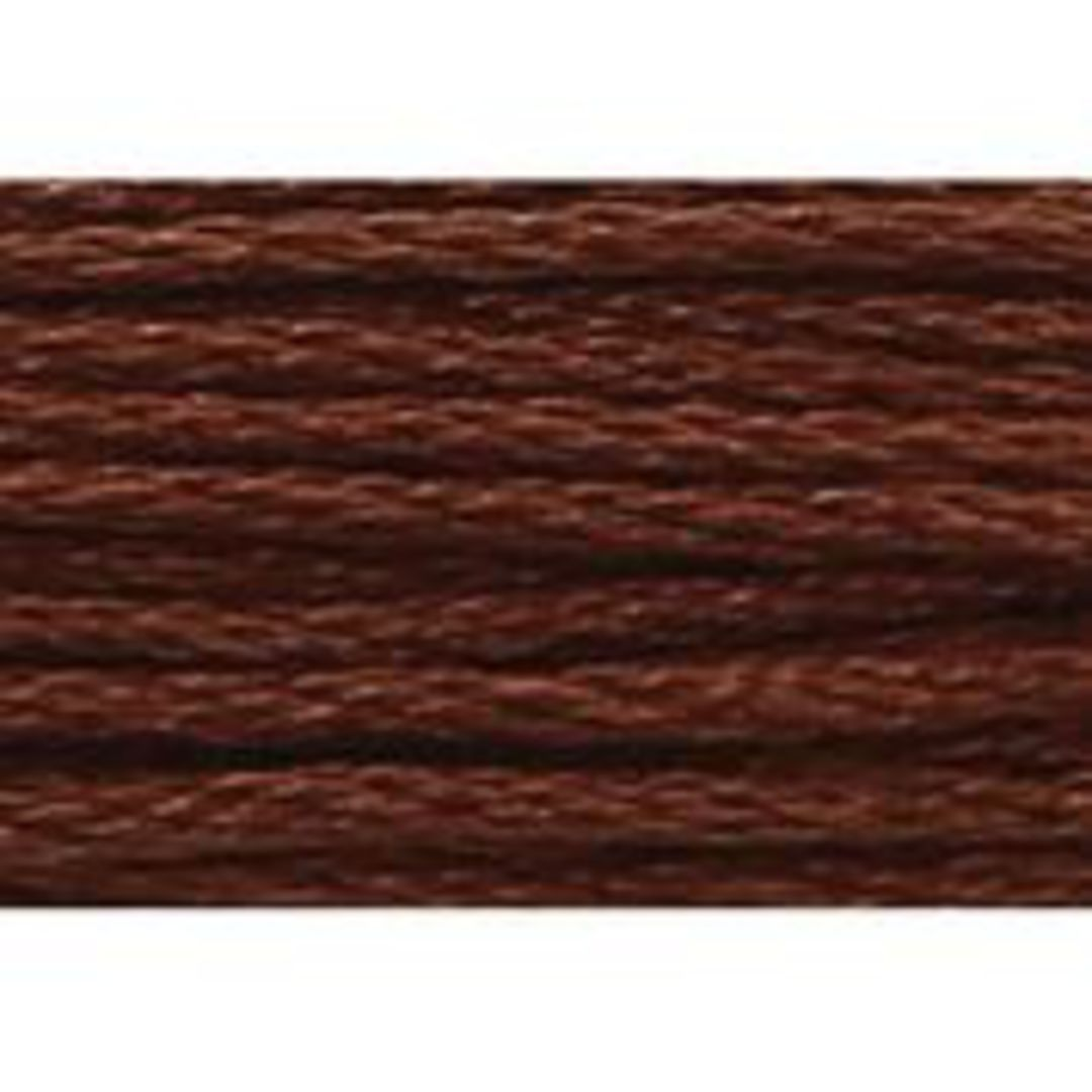 Stranded Cotton Cross Stitch Threads - Brown  Shades image 26