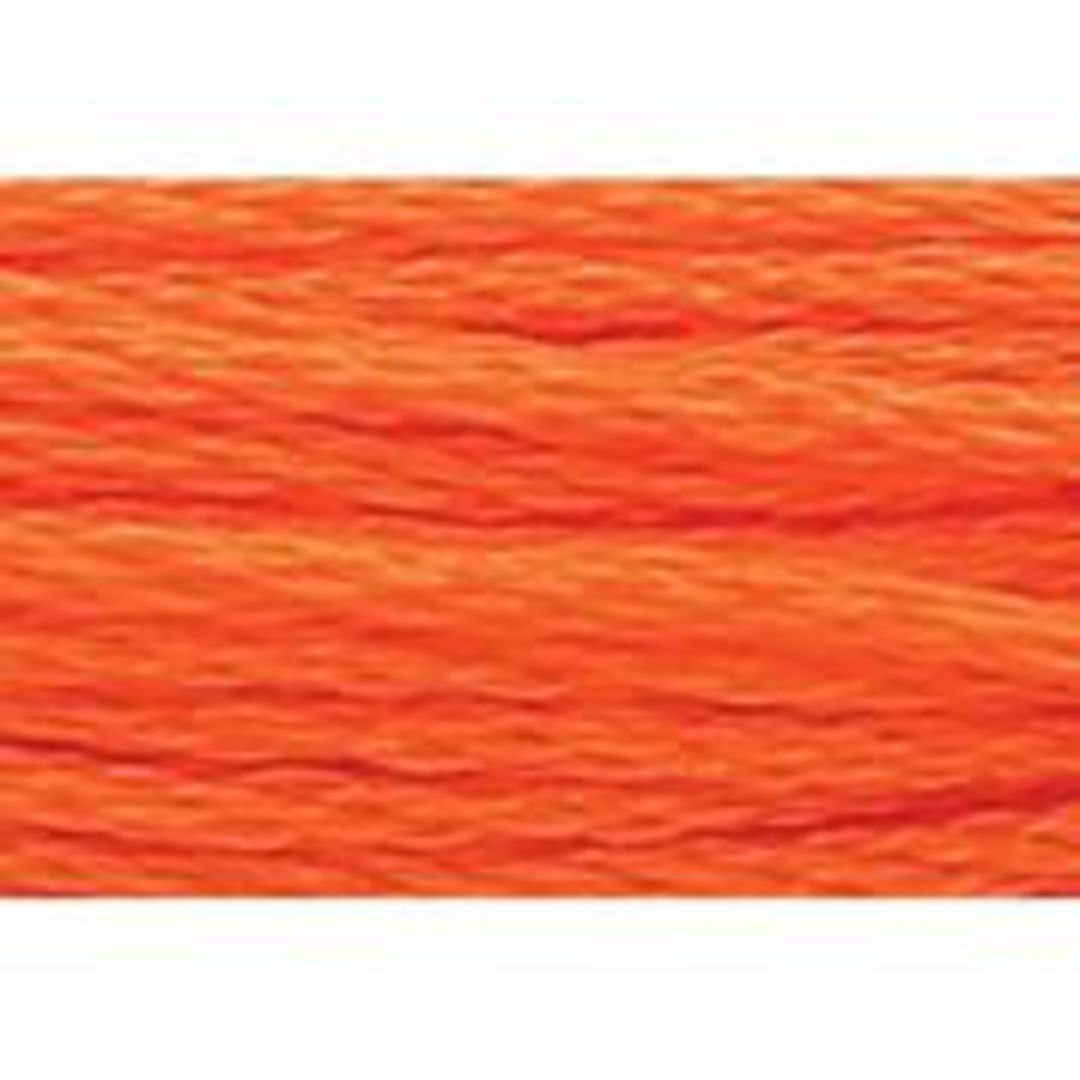 Stranded Cotton Cross Stitch Threads - Orange Shades image 43