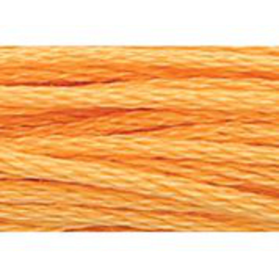 Stranded Cotton Cross Stitch Threads - Orange Shades image 49
