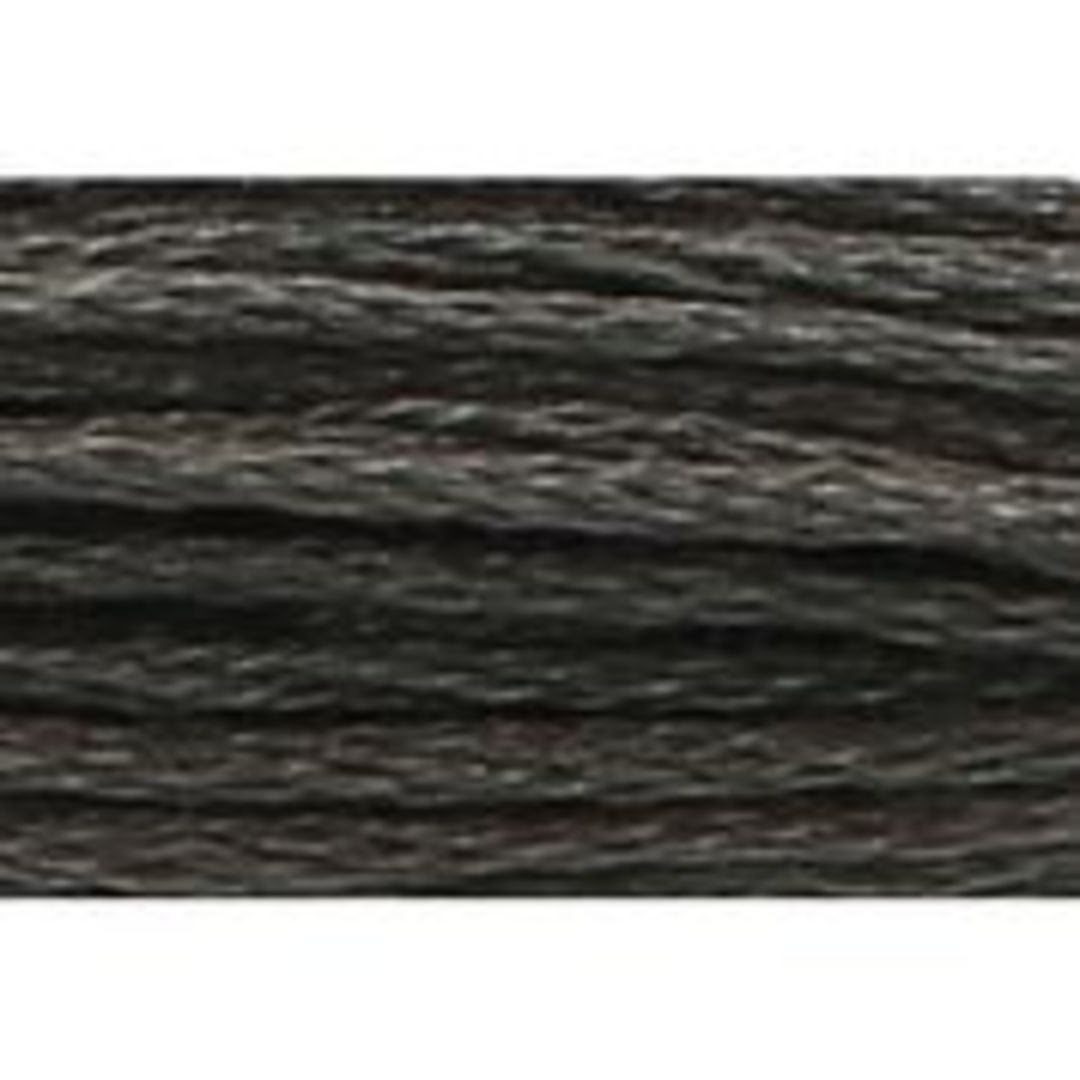 Stranded Cotton Cross Stitch Threads - Greys Shades image 1