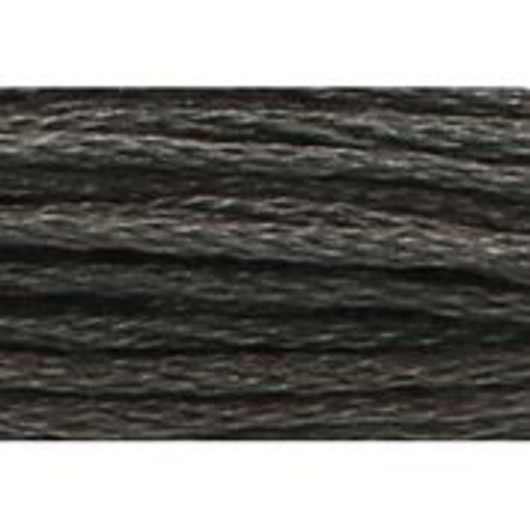Stranded Cotton Cross Stitch Threads - Greys Shades image 1