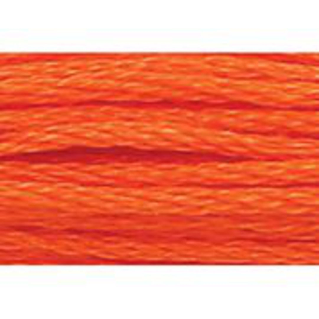 Stranded Cotton Cross Stitch Threads - Orange Shades image 42