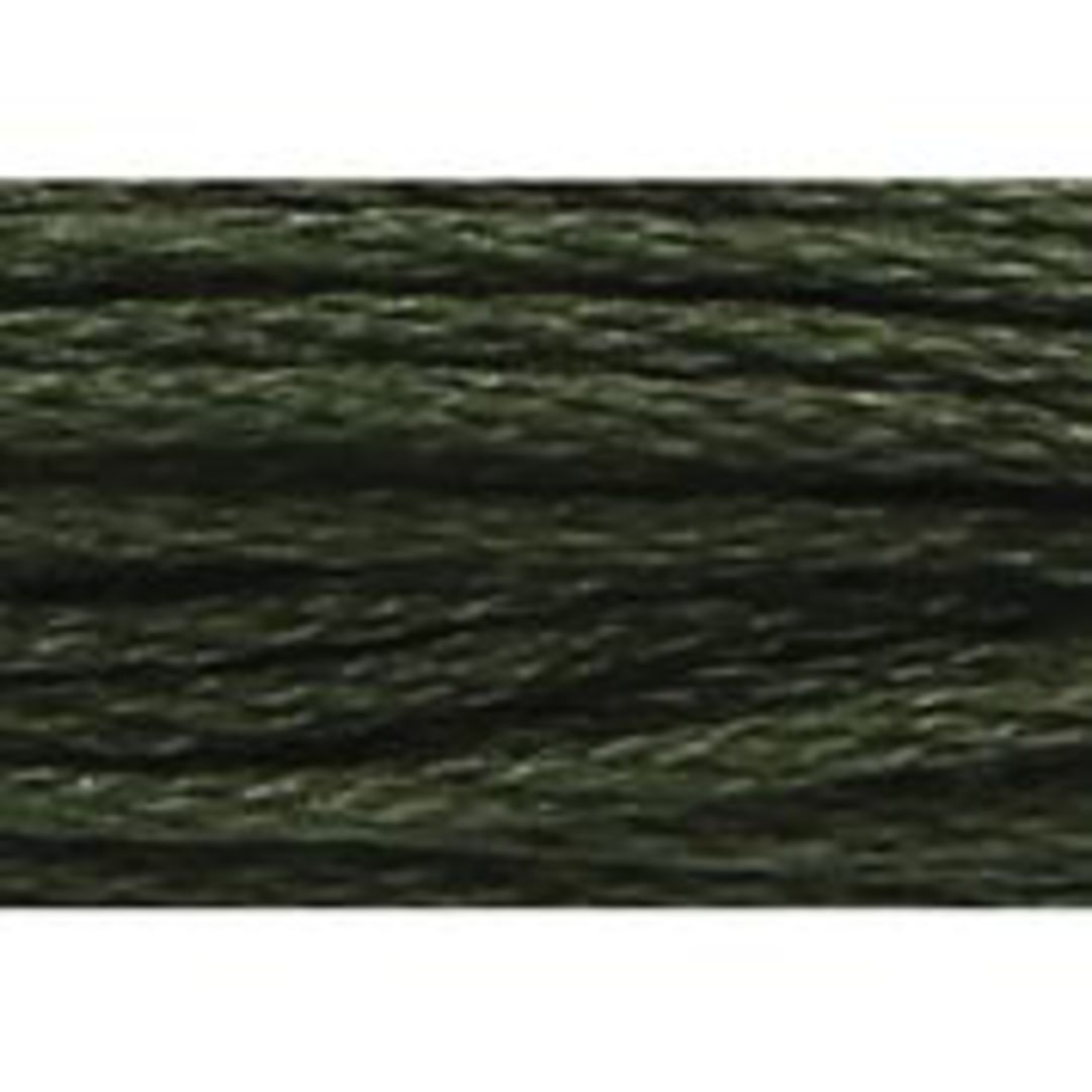 Stranded Cotton Cross Stitch Threads - Green Shades image 19