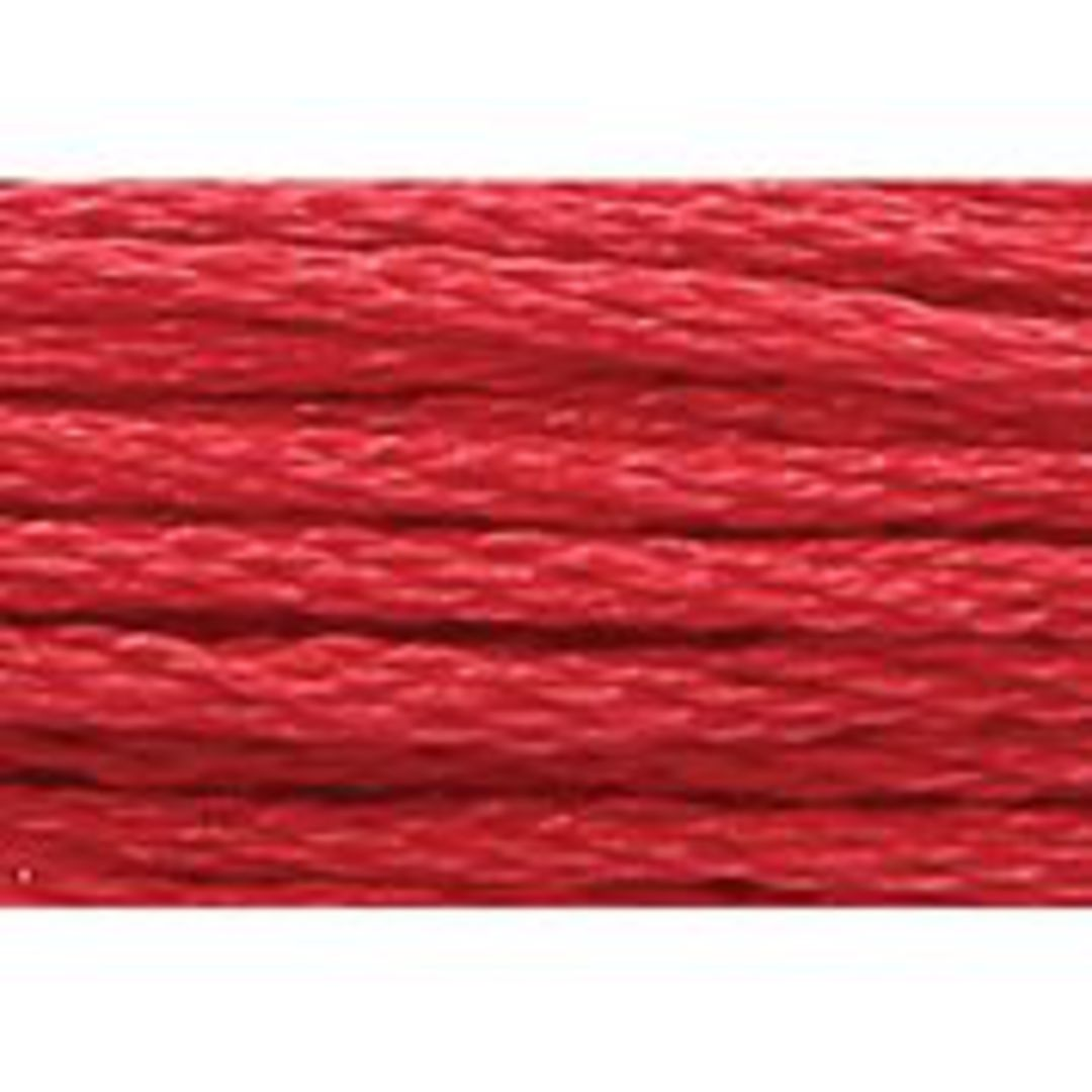 Stranded Cotton Cross Stitch Thread - Red Shades image 6