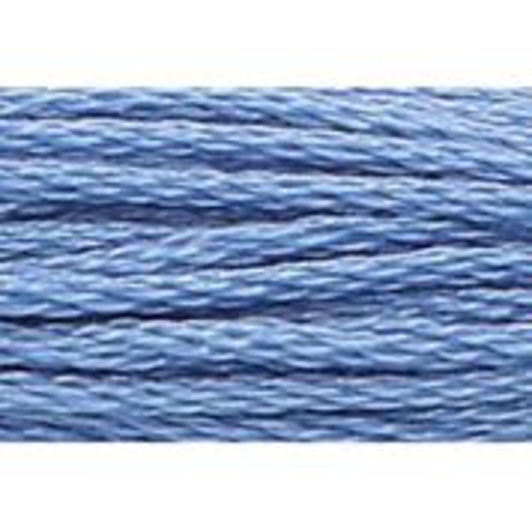 Stranded Cotton Cross Stitch Threads - Blue Shades image 65
