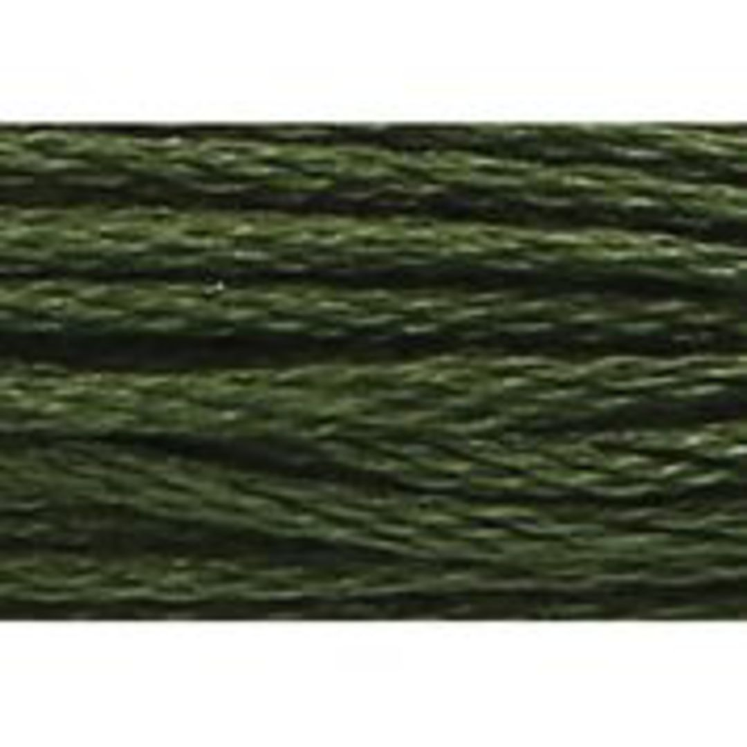 Stranded Cotton Cross Stitch Threads - Green Shades image 41