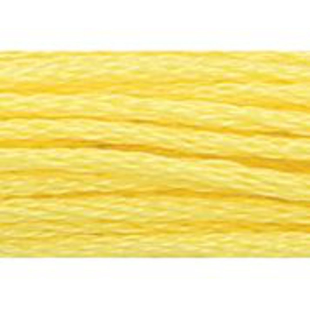 Stranded Cotton Cross Stitch Threads - Yellow Shades image 36