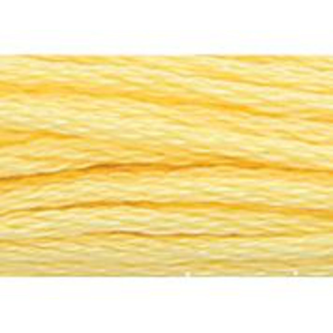 Stranded Cotton Cross Stitch Threads - Yellow Shades image 32