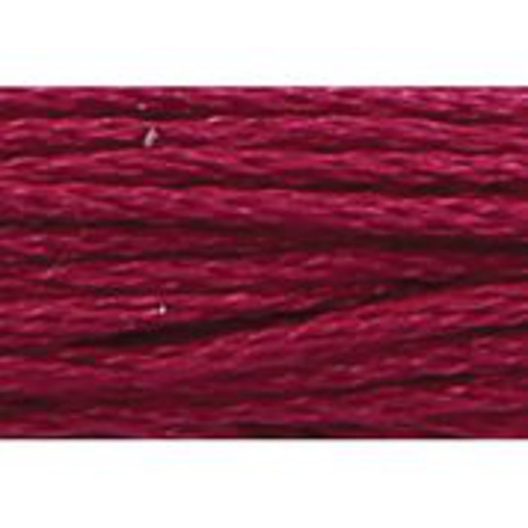 Stranded Cotton Cross Stitch Thread - Red Shades image 4