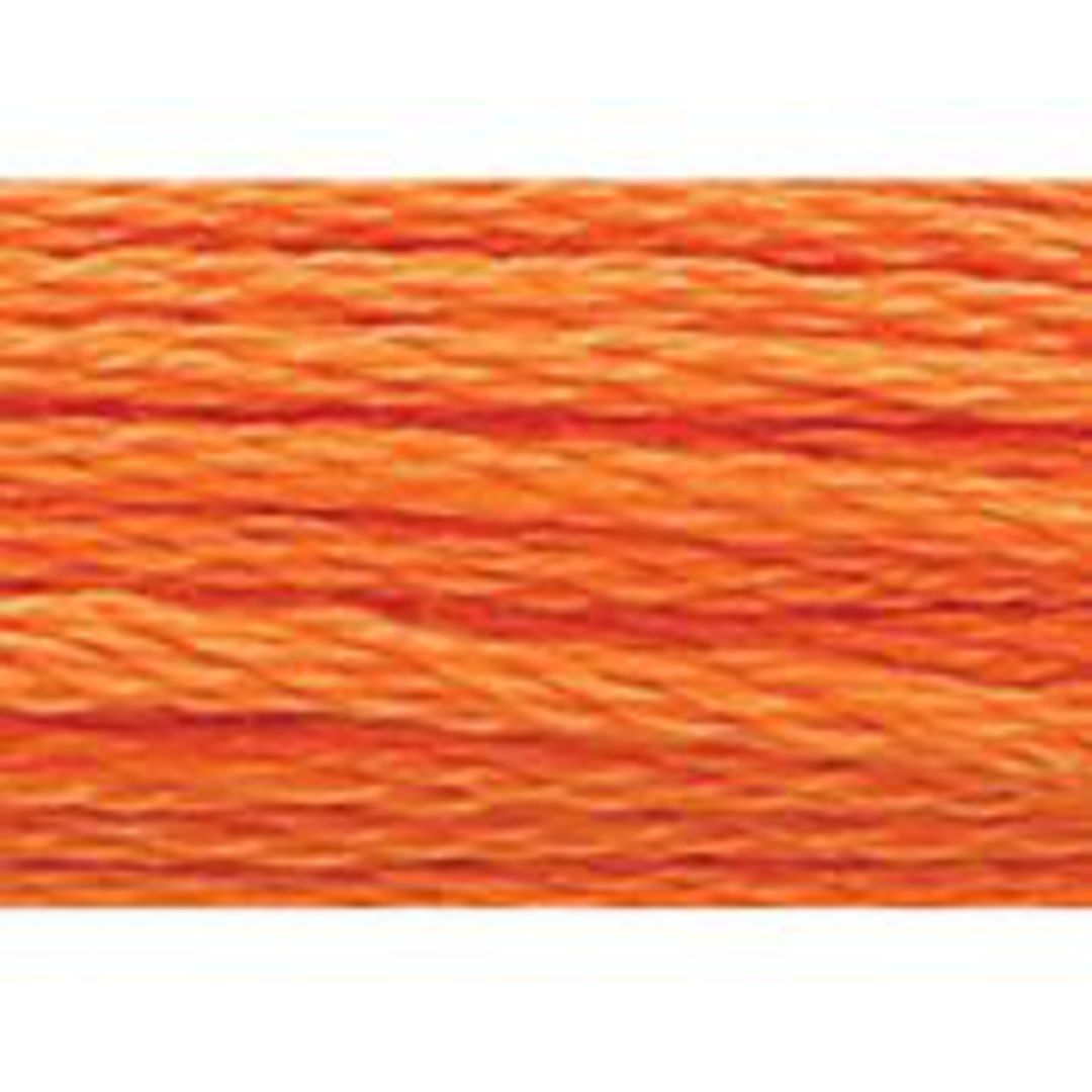 Stranded Cotton Cross Stitch Threads - Orange Shades image 45